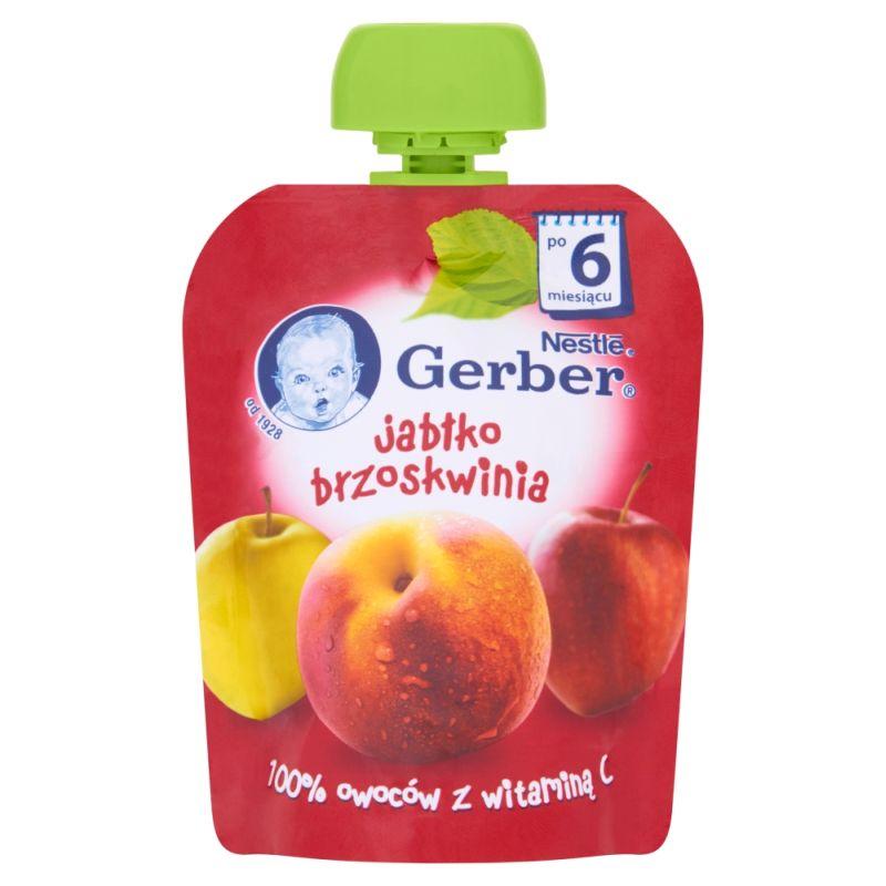 Gerber Jabłko, Brzoskwinia