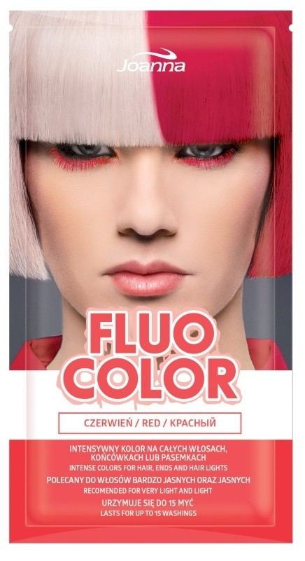 Joanna Fluo Color Czerwień