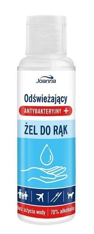 Joanna Naturia Antybakteryny 70% alkoholu 100ml