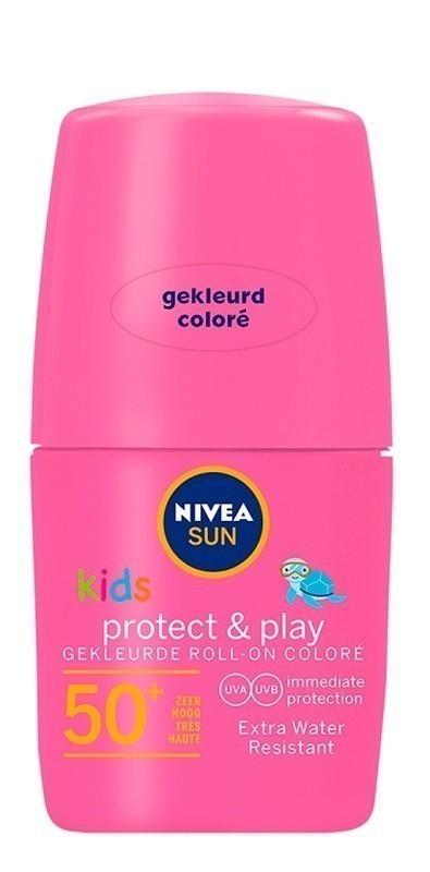 Nivea Sun Różowy Kids SPF50