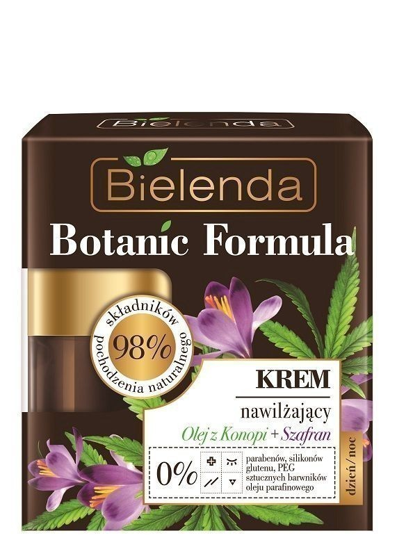 Bielenda Botanic Formula Olej z Konopi+Szafran