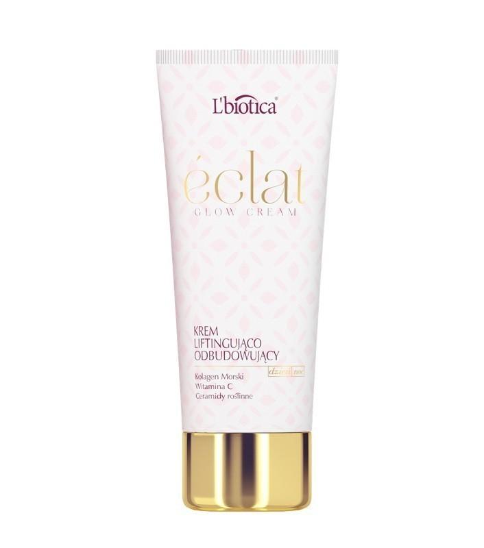 L'biotica Eclat Glow Cream Liftingująco - Odbudowujący