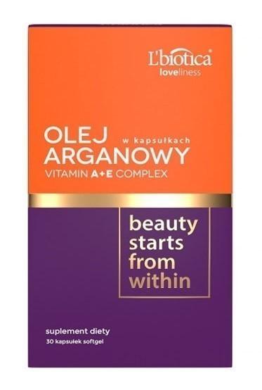 Olej Arganowy + Complex Vit. A+E