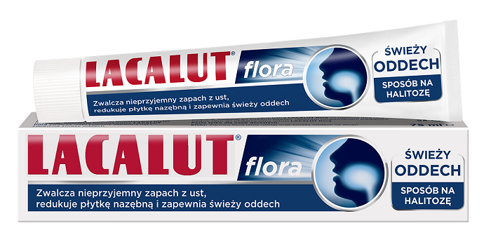 Lacalut Flora Pasta do zębów 75 ml