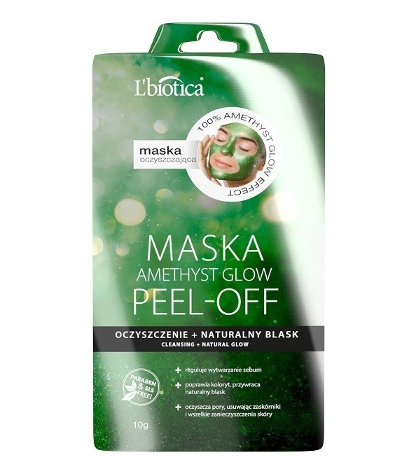 L'biotica Peel-Off Amethyst