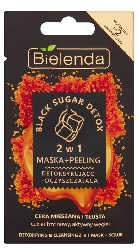 Bielenda Black Sugar Detox 2w1