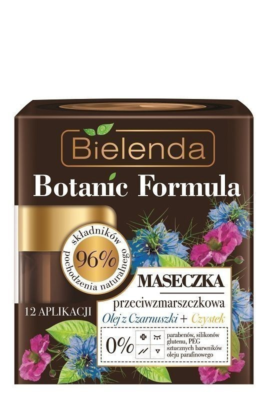 Bielenda Botanic Formula Olej z Czarnuszki+Czystek