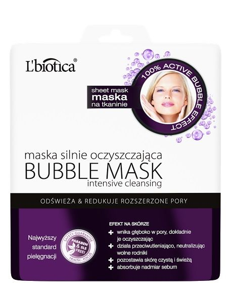 L'biotica Bubble Mask