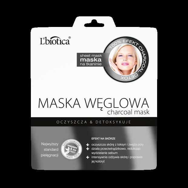L'biotica Maska Węglowa