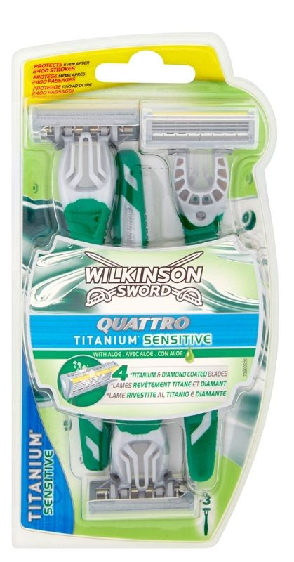 Wilkinson Quattro Titanium Sensitive