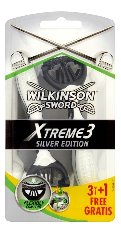 Wilkinson Xtreme3 Silver Edition