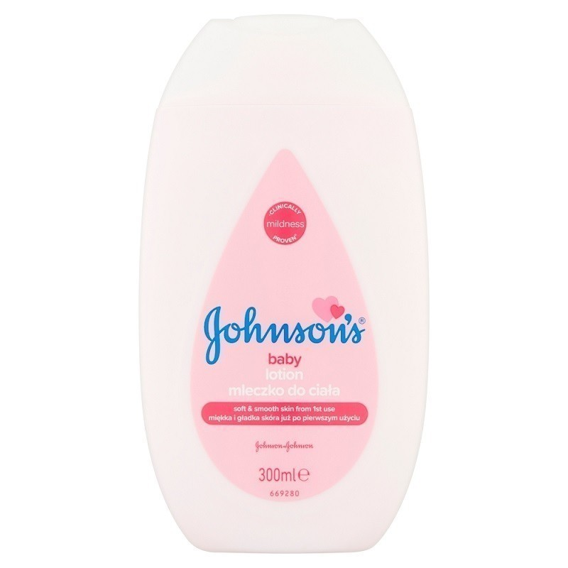 Johnsons Baby Pink