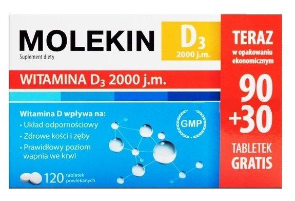 Molekin D3 2000 j.m.