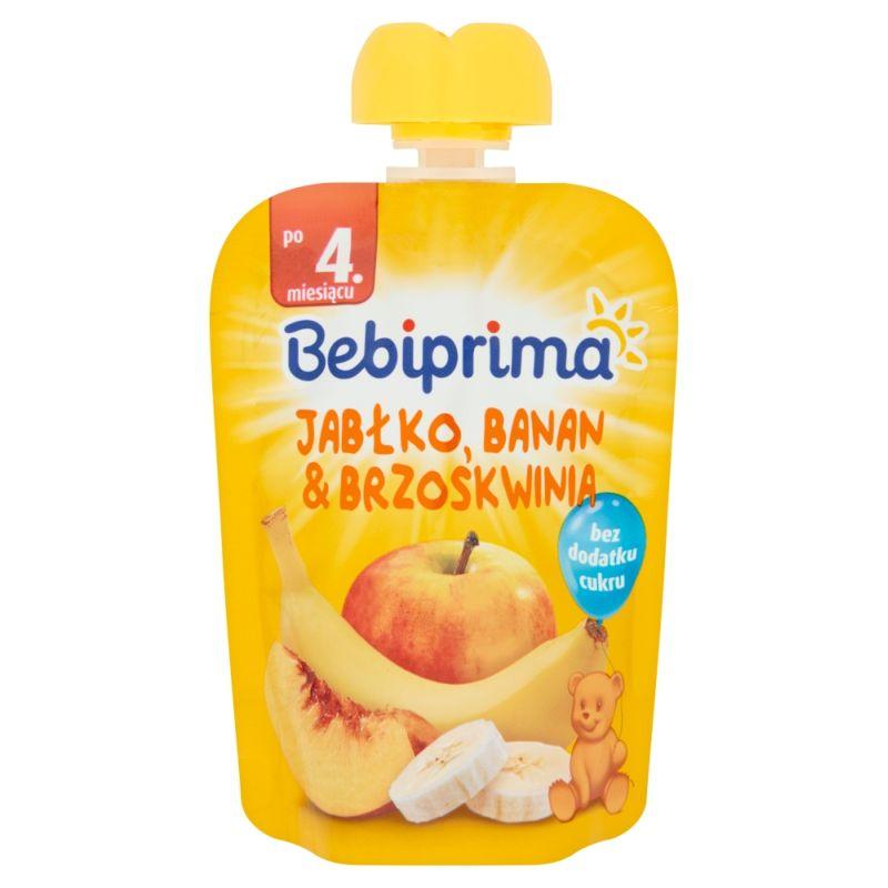 Bebiprima Jabłko-Banan-Brzoskwinia