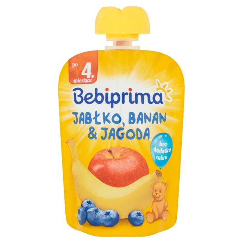 Bebiprima Jabłko-Banan-Jagoda