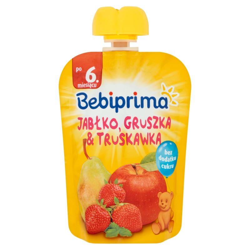 Bebiprima Jabłko-Gruszka-Truskawka