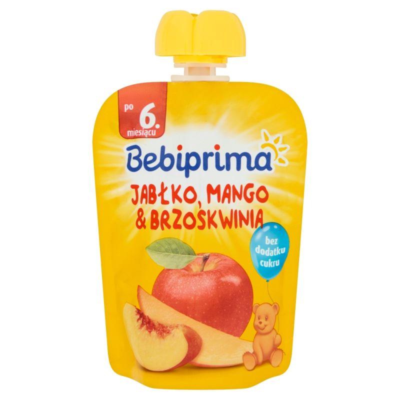 Bebiprima Jabłko-Mango-Brzoskwinia