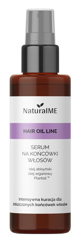 NaturalME Hair Oil Line