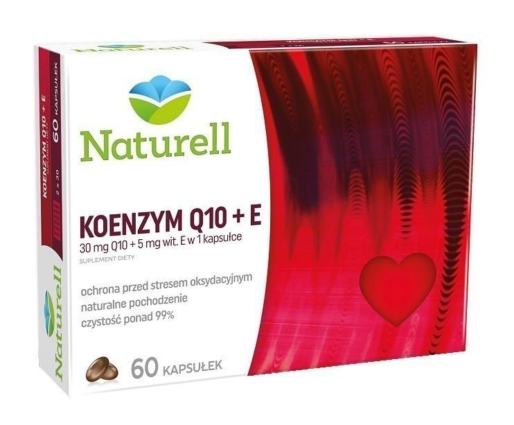 Naturell Koenzym Q10 + Wit.E