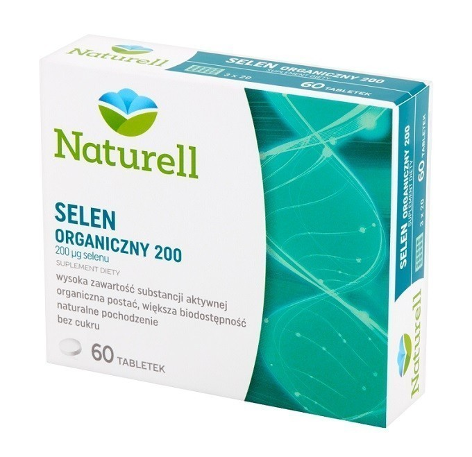 Naturell Selen Organiczny 200 µg