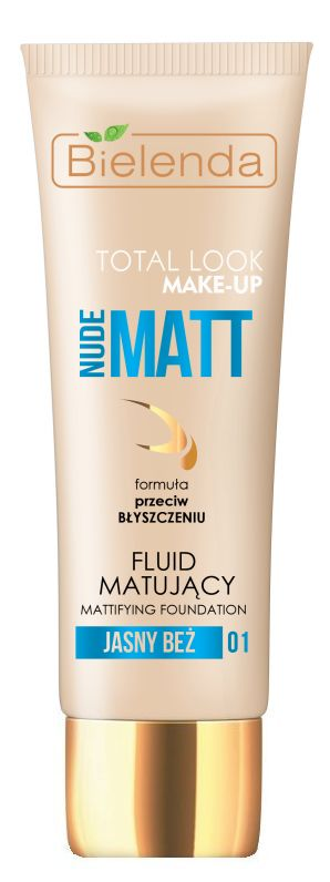 Bielenda Total Look Make-Up Nude Matt
