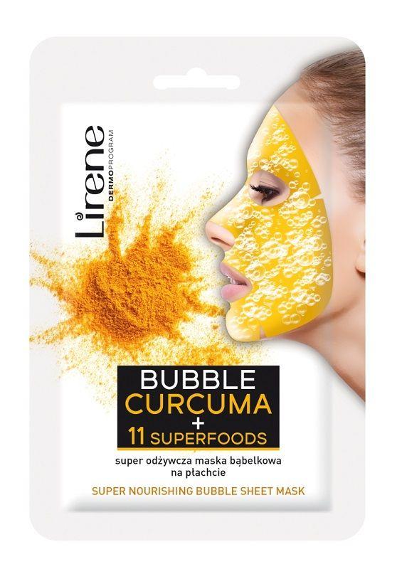 Lirene Dermoprogram Bubble Curcuma