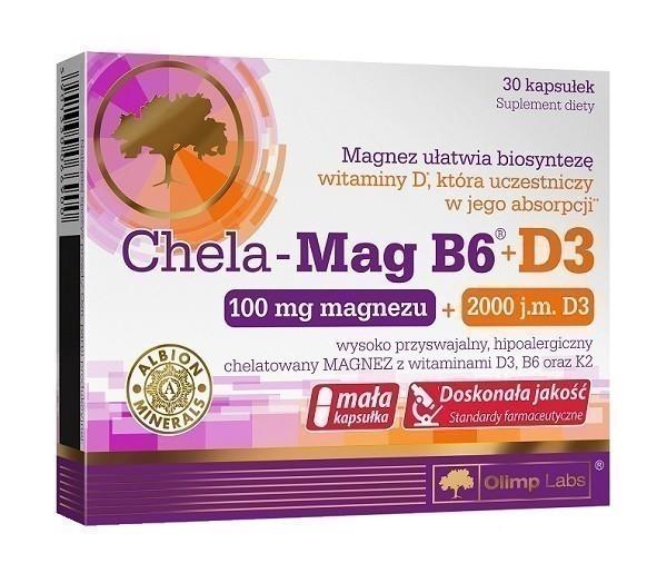 Olimp Chela-Mag B6 + D3