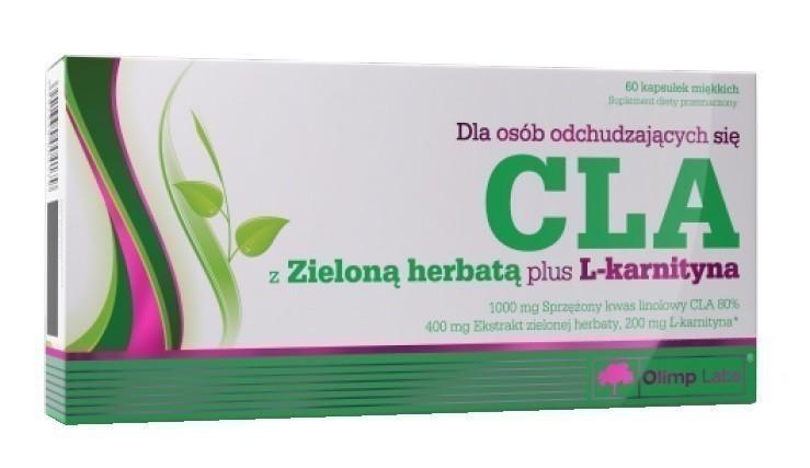 Olimp CLA z Zieloną Herbatą + L-karnityna