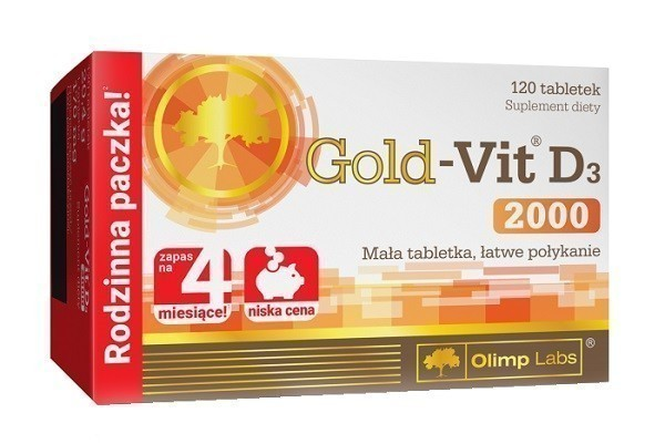 Olimp Gold-Vit D3 2000