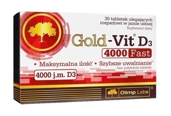 Olimp Gold-Vit D3 4000 Fast