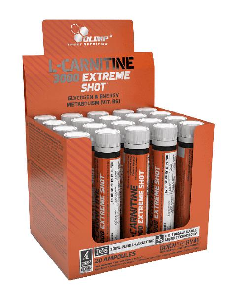 Olimp L-Carnitine 3000 Extreme Smak Wiśniowy Shot