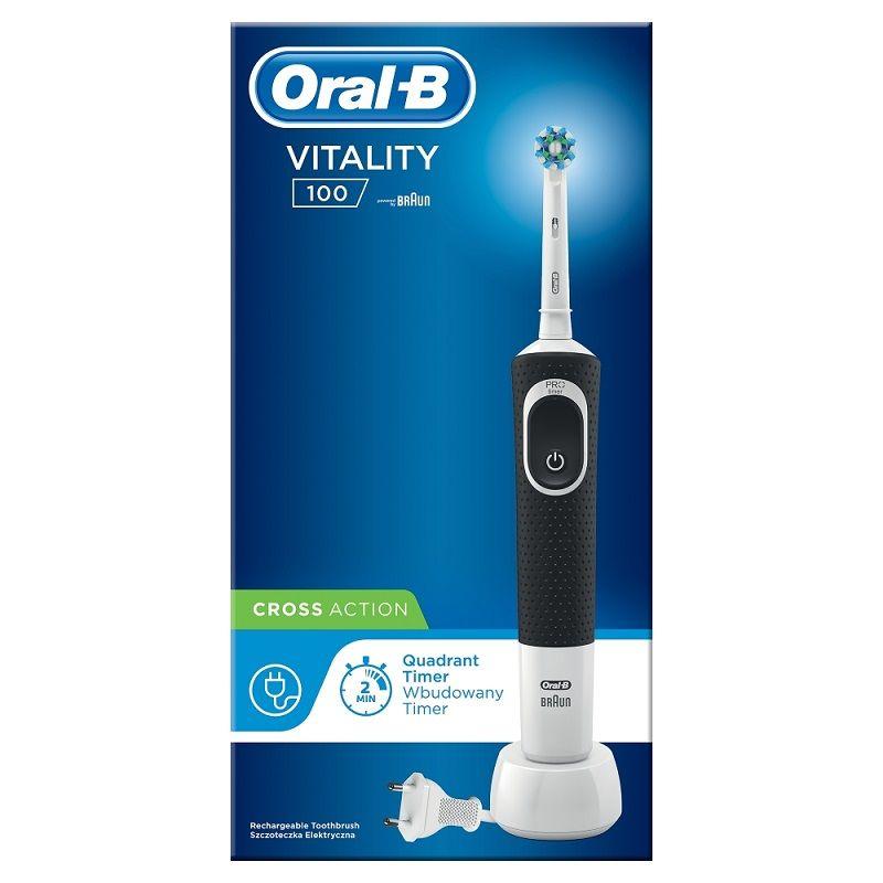 Oral-B Vitality 100 Cross Action Black