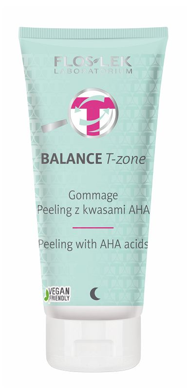 Floslek Balance T-zone Gommage