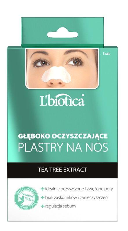 L'biotica Głęboko Oczyszczające Plastry Na Nos