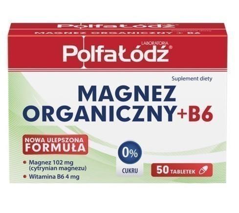 Magnez Organiczny + Wit.B6