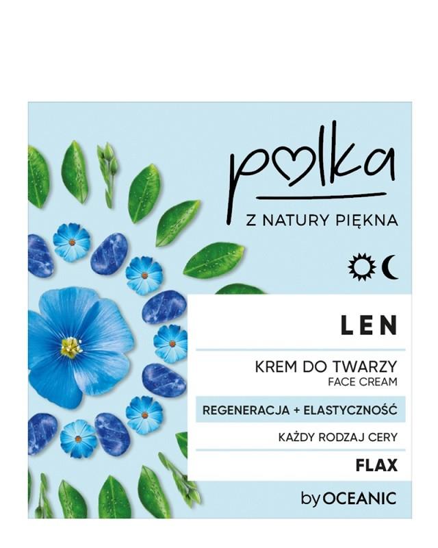Polka Len Regeneracja+Elastyczność