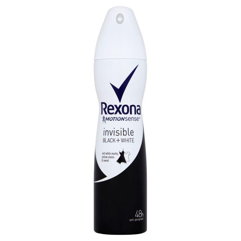 Rexona MotionSense Invisible Black+White