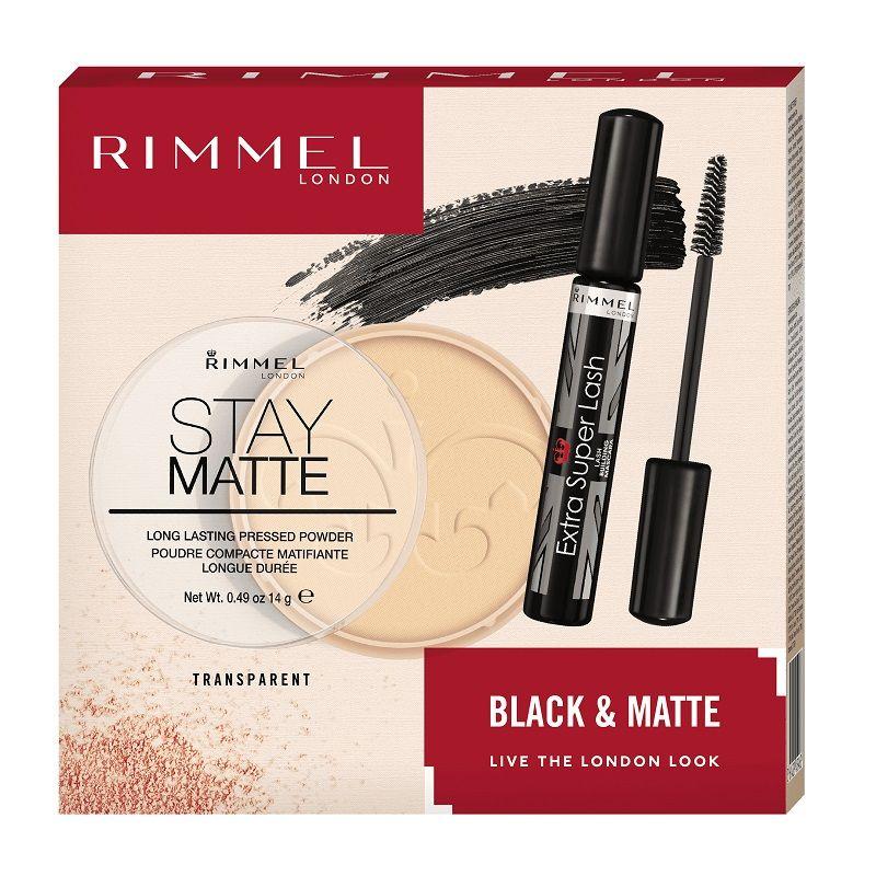 Rimmel Black&Matte XMASS