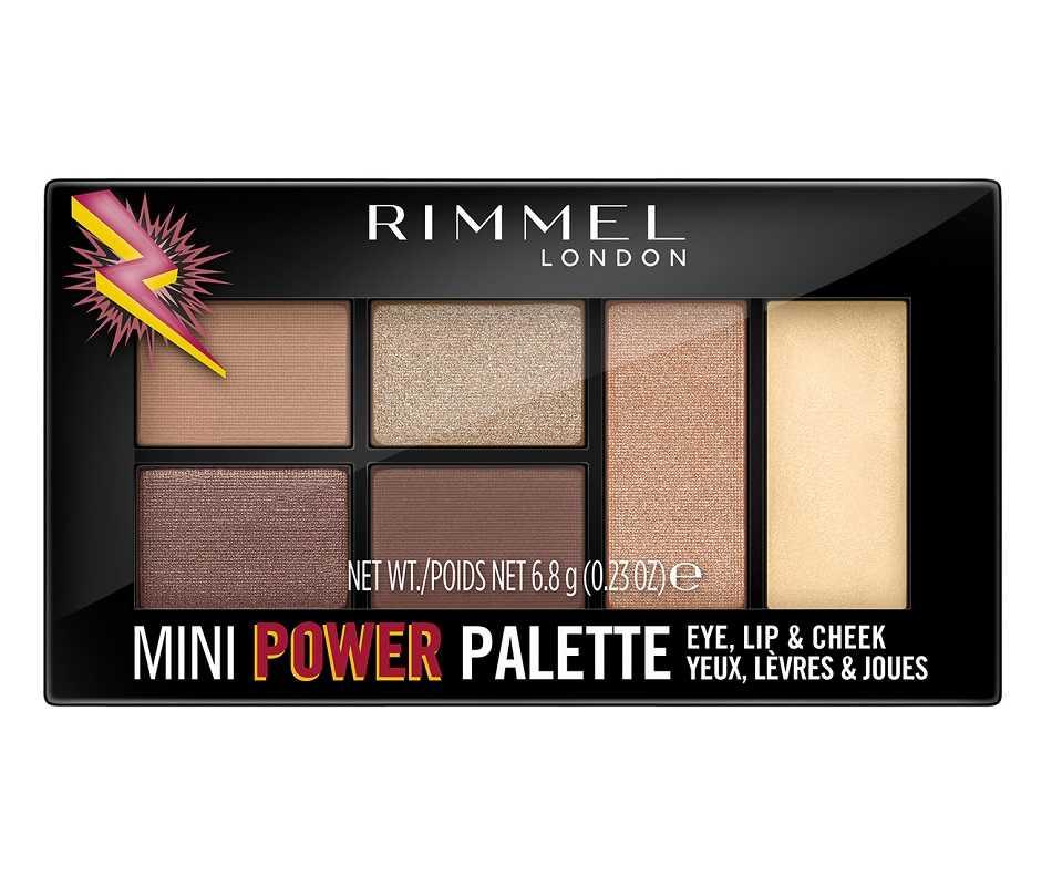 Rimmel Mini Power Palette Fearless