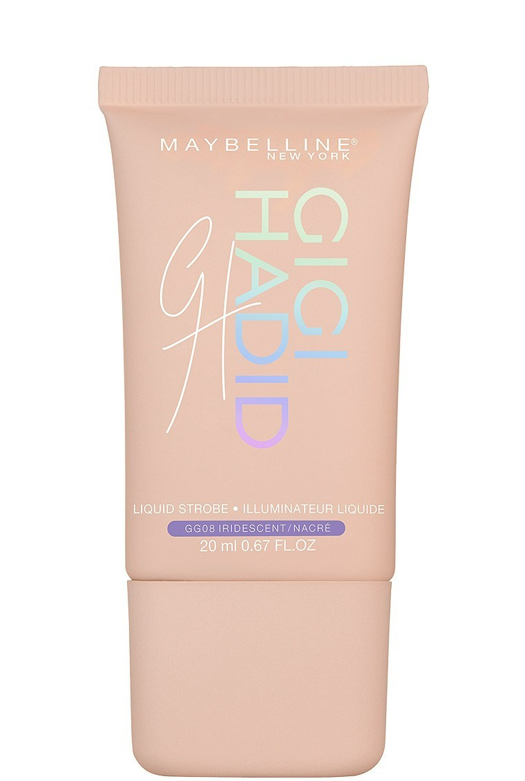 Maybelline Gigi Hadid Liquid Strob New York Glam Look