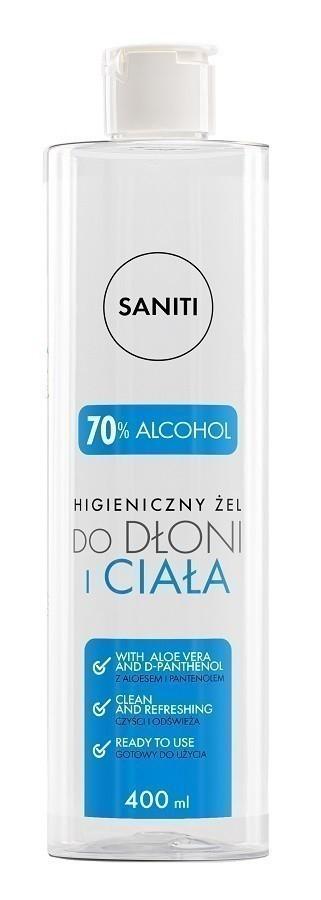 Saniti 70% alkoholu 400ml