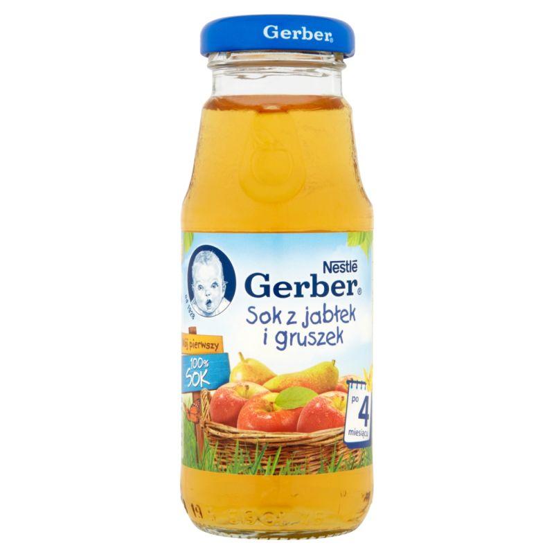 Gerber z Jabłek i Gruszek