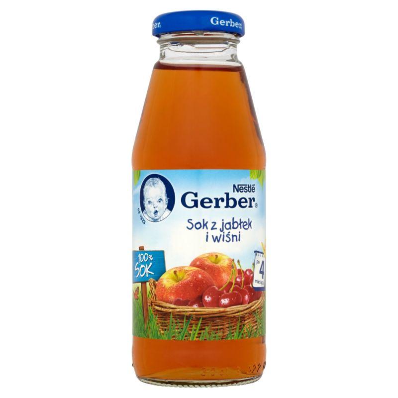 Gerber Sok z Jabłek i Wiśni