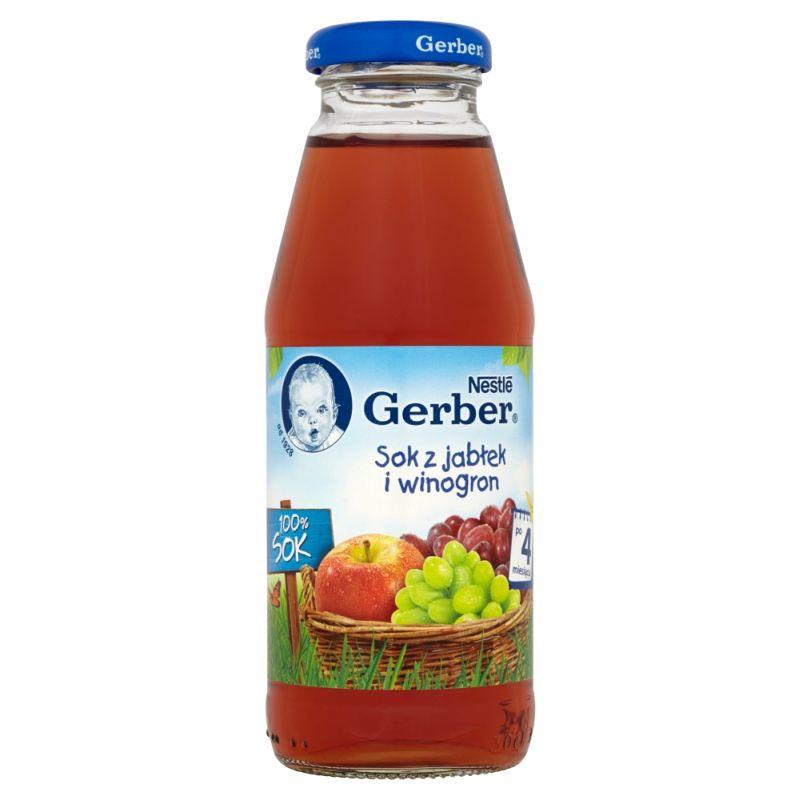 Gerber Sok z Jabłkek i Winogron