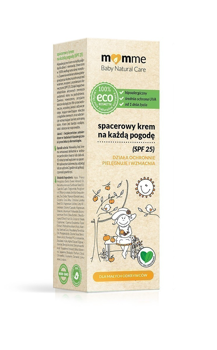 Momme Baby Natural Care SPF25