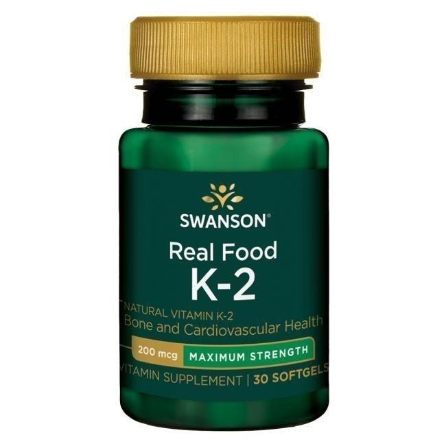 Swanson Witamina K2 200 µg