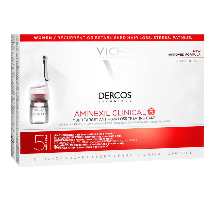 Vichy Dercos Aminexil Clinical 5 WOMAN