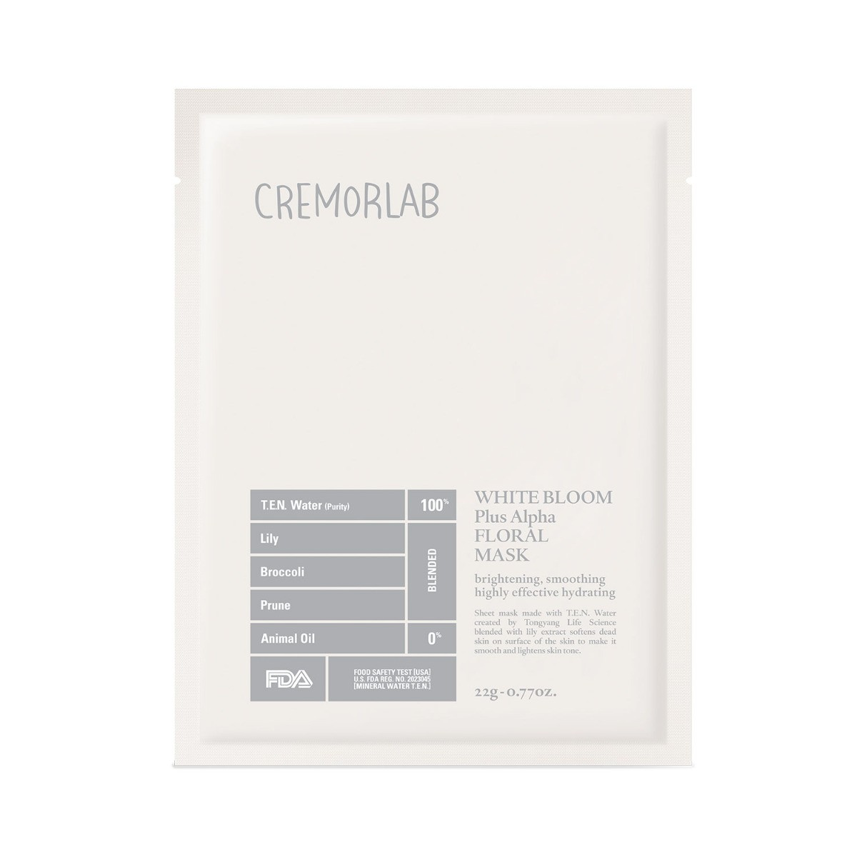 Cremorlab White Bloom