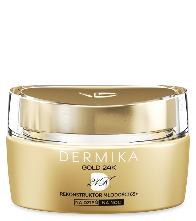 Dermika Gold 24k Total Benefit 65+