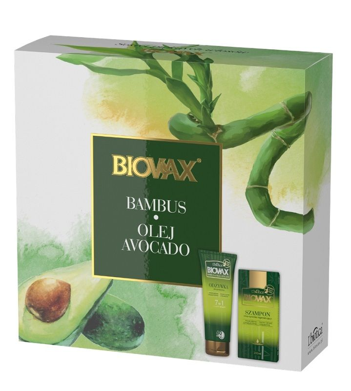 Biovax Bambus&Avocado XMASS